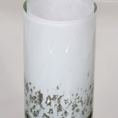Humppila vase, white, massive