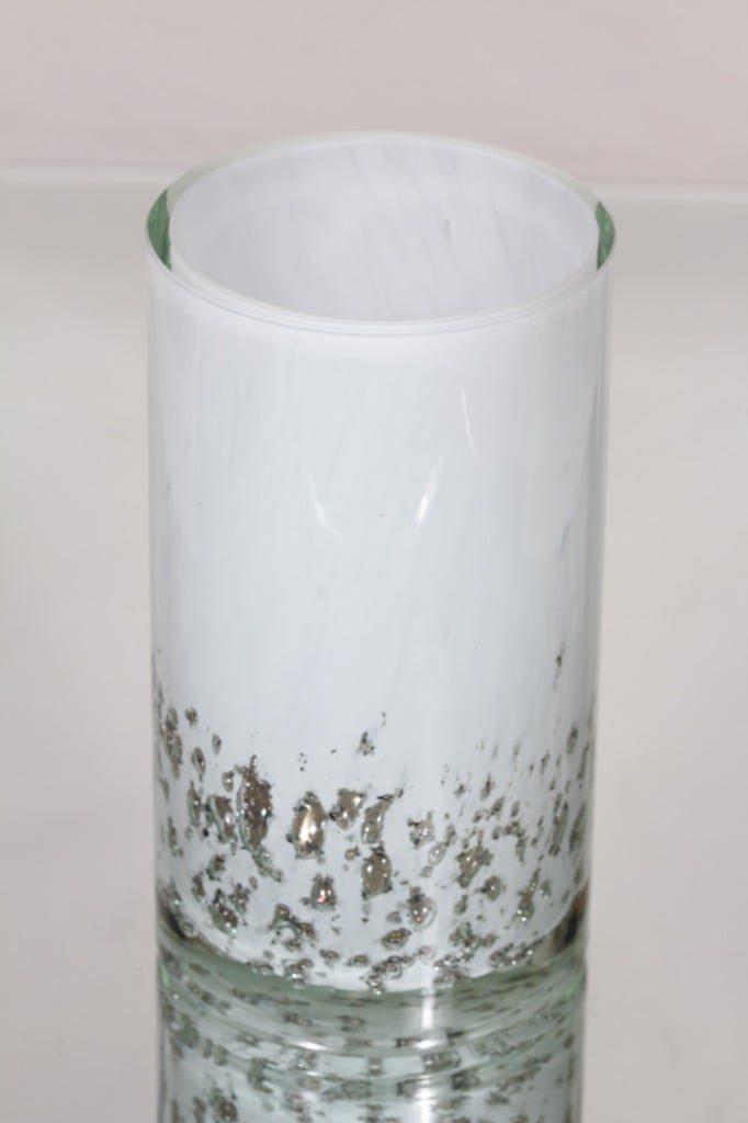 Humppila vase, white, massive
