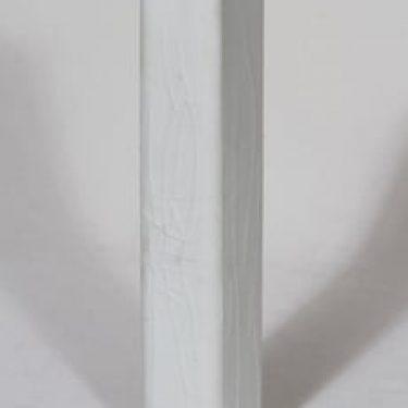 Arabia 385-12 maljakko, valkoinen, suunnittelija Karl Heinz Schultz-Köln,