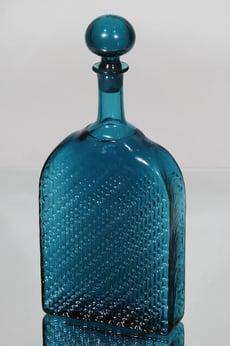 Riihimäen lasi Flindari koristepullo, 100 cl, suunnittelija Nanny Still, 100 cl, suuri