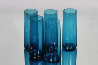 Riihimäen lasi Harlekiini mehulasit, 30 cl, 5 kpl, suunnittelija Nanny Still, 30 cl