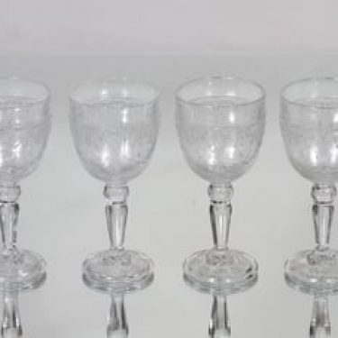 Nuutajärvi Apila lasit, 10 cl, 4 kpl, suunnittelija , 10 cl