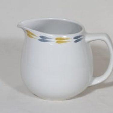 Arabia Tipla kaadin, 1.1 l, suunnittelija Raija Uosikkinen, 1.1 l, käsinmaalattu, ornamentti