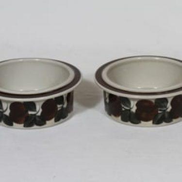 Arabia Ruija kulhot, käsinmaalattu, 2 kpl, suunnittelija Raija Uosikkinen, käsinmaalattu, pieni
