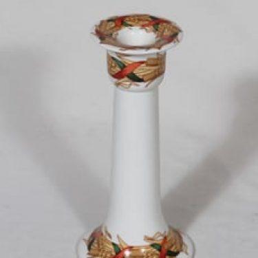 Arabia Santa Arctica kynttilänjalka, suunnittelija Inkeri Leivo, serikuva, lyhdeaihe