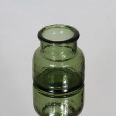 Riihimäen lasi Neptuna tölkki, vihreä, suunnittelija Nanny Still, pieni