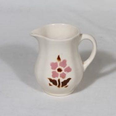 Arabia IO-0 kaadin, kukka-aihe, suunnittelija , kukka-aihe, pieni, puhalluskoriste, nimetön kukkakuvio