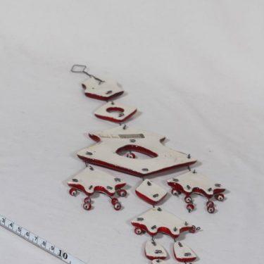 Kalevala Koru seinäkoriste, punainen, suunnittelija , käsityö kuva 2