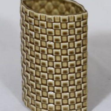 Arabia 379-3 maljakko, ruskea, suunnittelija Kaarina Aho,