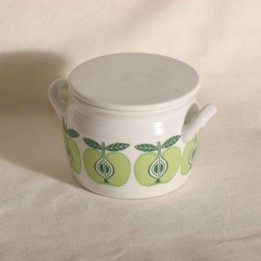 Arabia Pomona ruukku, omena, suunnittelija Raija Uosikkinen, omena