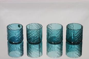 Riihimäen lasi Flindari lasit, 8 cl, 4 kpl, suunnittelija Nanny Still, 8 cl, pieni