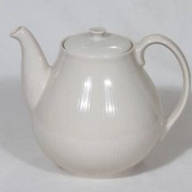 Arabia Sointu kahvikaadin, luunvalkoinen, suunnittelija Kaj Franck,