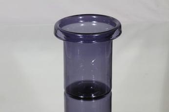 Riihimäen lasi Ametisti maljakko, violetti, suunnittelija Nanny Still,
