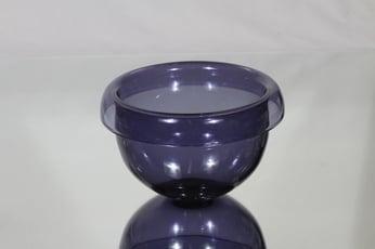 Riihimäen lasi Ametisti kulho, violetti, suunnittelija Nanny Still,
