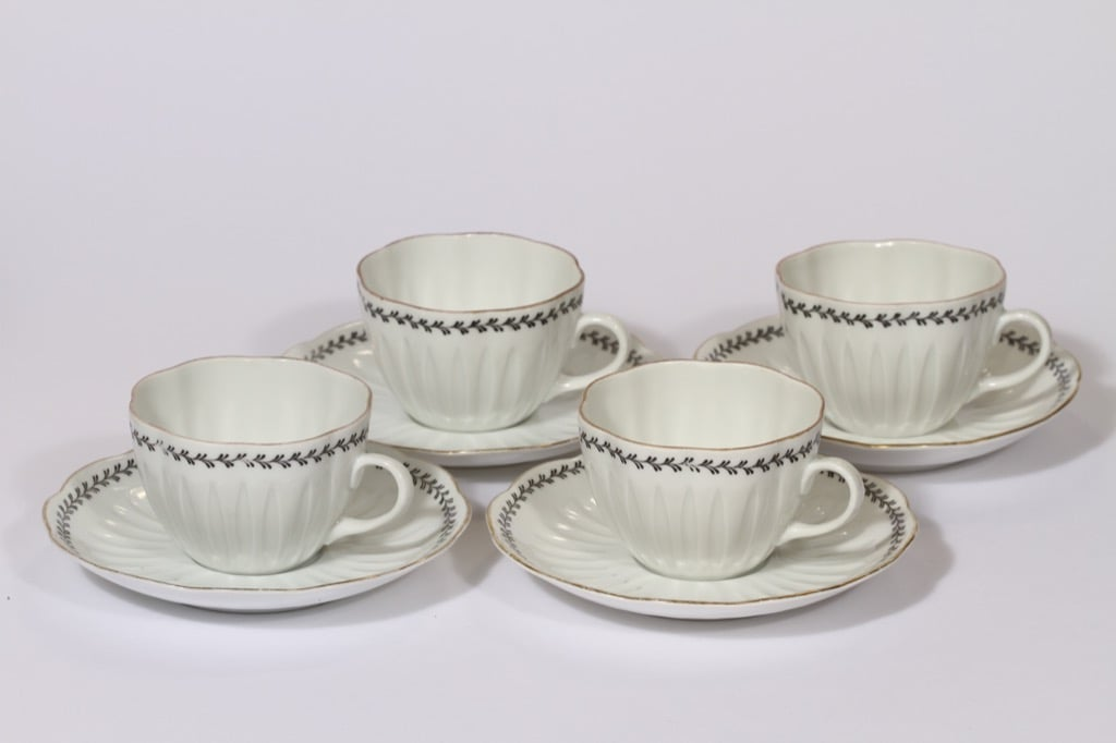 Arabia Varpu coffee cups, 4 pcs, Raija Uosikkinen