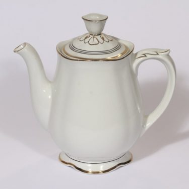 Arabia Hermes coffee pot, 1 l, stripe decoration