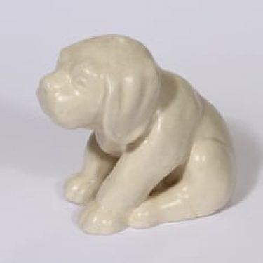 Kupittaan savi 360 eläinfiguuri, koira, suunnittelija Valentina Modig, koira, suuri
