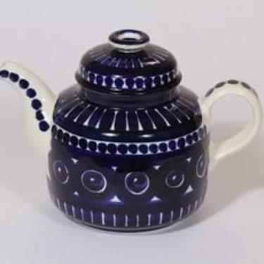 Arabia Valencia teekaadin, käsinmaalattu, suunnittelija Ulla Procope, käsinmaalattu, signeerattu