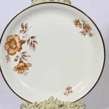 Arabia Myrna vati, suunnittelija Olga Osol, serikuva, kukka-aihe