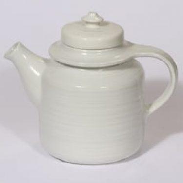 Arabia koristelematon teekaadin, 1 l, suunnittelija , 1 l, koristelematon