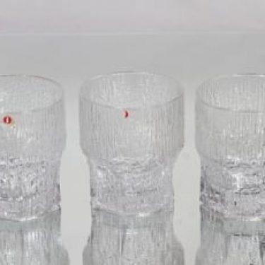 Iittala Aslak lasit, 25 cl, 3 kpl, suunnittelija Tapio Wirkkala, 25 cl
