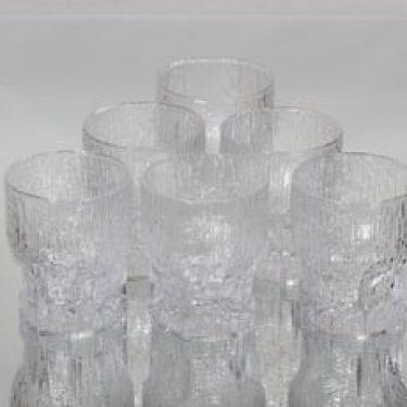 Iittala Grapponia lasit, 13 cl, 6 kpl, suunnittelija Tapio Wirkkala, 13 cl