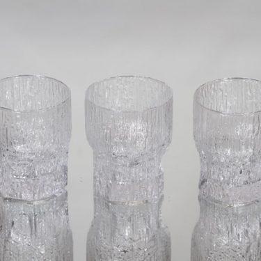 Iittala Aslak lasit, 13 cl, 3 kpl, suunnittelija Tapio Wirkkala, 13 cl