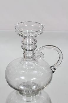Riihimäen lasi Kleopatra maljakko, kirkas, suunnittelija Tamara Aladin,