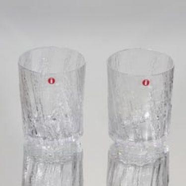 Iittala Kuura lasit, 20 cl, 2 kpl, suunnittelija Tapio Wirkkala, 20 cl
