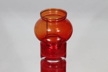 Riihimäen lasi Välkky tuikkulyhty, punainen, suunnittelija Tamara Aladin,
