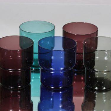 Nuutajärvi Pinottava lasi lasit, 25 cl, 5 kpl, suunnittelija Saara Hopea, 25 cl