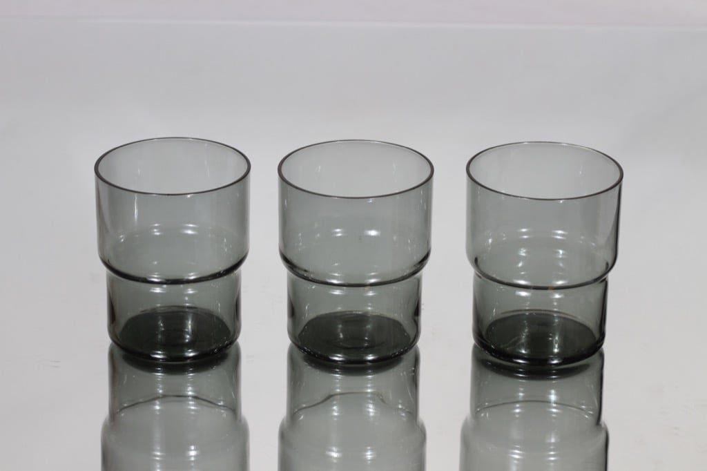 Nuutajärvi Pinottava lasi lasit, 25 cl, 3 kpl, suunnittelija Saara Hopea, 25 cl