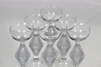 Iittala Briljant cocktail-lasit, 10 cl, 6 kpl, suunnittelija Tapio Wirkkala, 10 cl