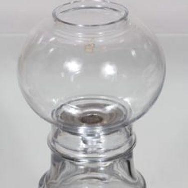 Riihimäen lasi Jupiter kynttilälyhty, kirkas, suunnittelija Tamara Aladin,
