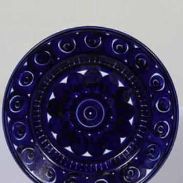 Arabia Valencia hedelmävati, käsinmaalattu, suunnittelija Ulla Procope, käsinmaalattu, suuri