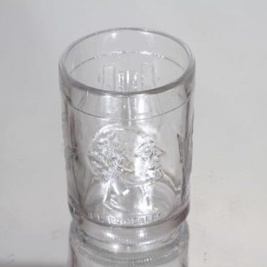 Iittala Suurmieslasi lasi, kirkas, suunnittelija Alfred Gustafsson,