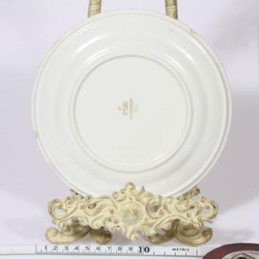 Arabia Muumi lasten lautanen, suunnittelija Tove Slotte, pieni, serikuva kuva 2