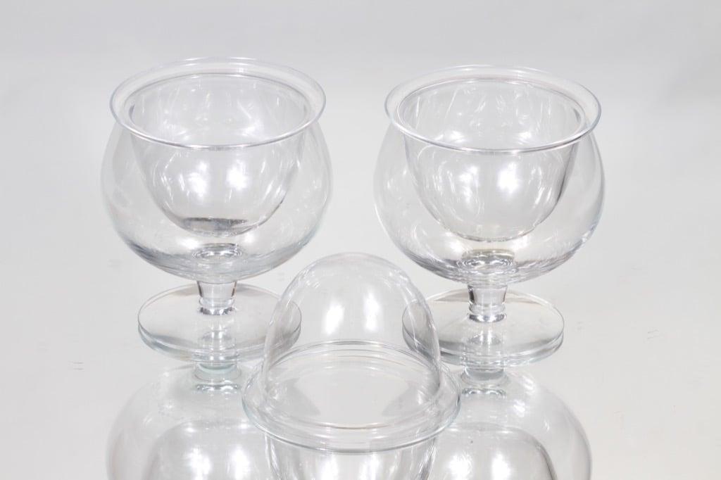 Nuutajärvi Kaviaarimalja dessert glasses, 2 part, 2 pcs, Saara Hopea