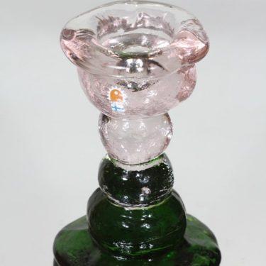 Humppila Kivi-Set kynttilänjalka, signeerattu, suunnittelija Pertti Santalahti, signeerattu, massiivinen