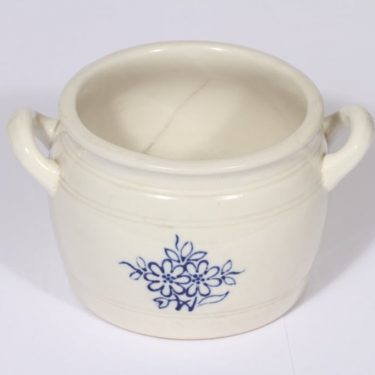 Arabia B pot, flower pattern, cobalt decoration, 1 l