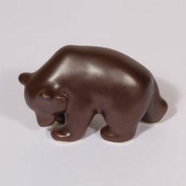 Arabia eläinfiguuri, karhu, suunnittelija Lea von Mickwitz, karhu