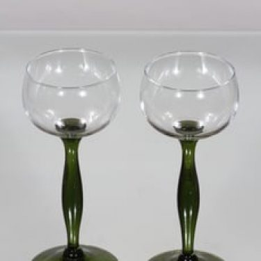 Kumela 522 lasit, oliivinvihreä, 2 kpl, suunnittelija ,