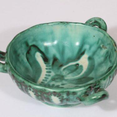 Kupittaan savi 318 bowl, hand-painted, small, signed