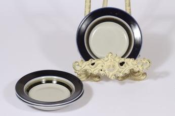 Arabia Saara lautaset, 3 kpl, suunnittelija Anja Jaatinen-Winquist, pieni, erikoiskoriste, retro