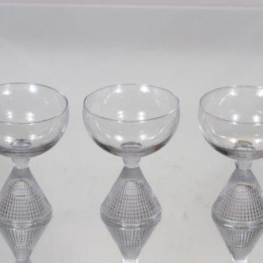 Iittala Briljant cocktail-lasit, kirkas, 3 kpl, suunnittelija Tapio Wirkkala,