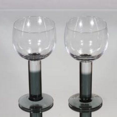 Nuutajärvi Mondo lasit, 28 cl, 2 kpl, suunnittelija Kerttu Nurminen, 28 cl