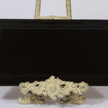 Arabia Kilta vati, musta, suunnittelija Kaj Franck,