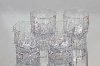 Iittala Pallas lasit, 25 cl, 4 kpl, suunnittelija Tapio Wirkkala, 25 cl