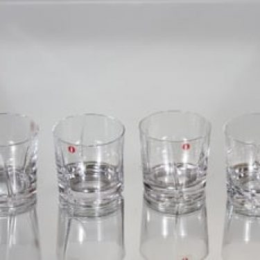Iittala Viva lasit, kirkas, 4 kpl, suunnittelija Tapio Wirkkala,