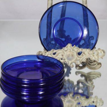 Kumela lautaset, sininen, 6 kpl, suunnittelija , pieni